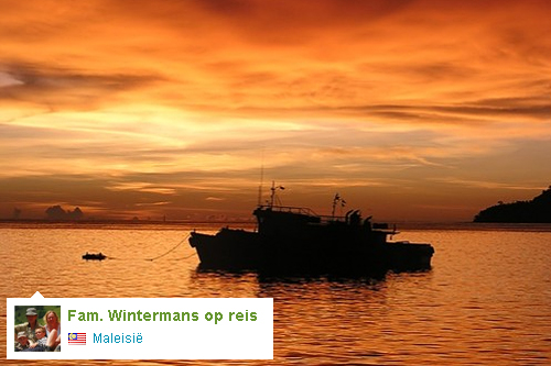 Reisdagboek: Fam. Wintermans in Maleisië